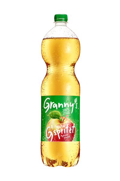 Granny's sparkling apple juice 1.5l